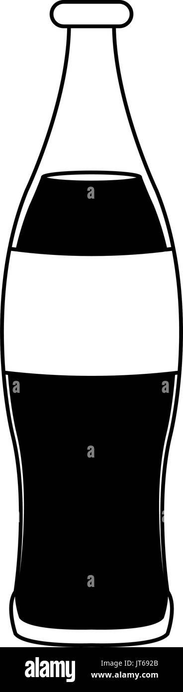 beverage cola soda carbonated drink bottle - Stock Image