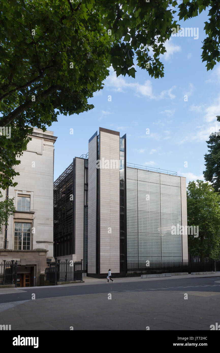 British Museum, World Conservation and Exhibitions Centre, Bloomsbury, London - Stock Image
