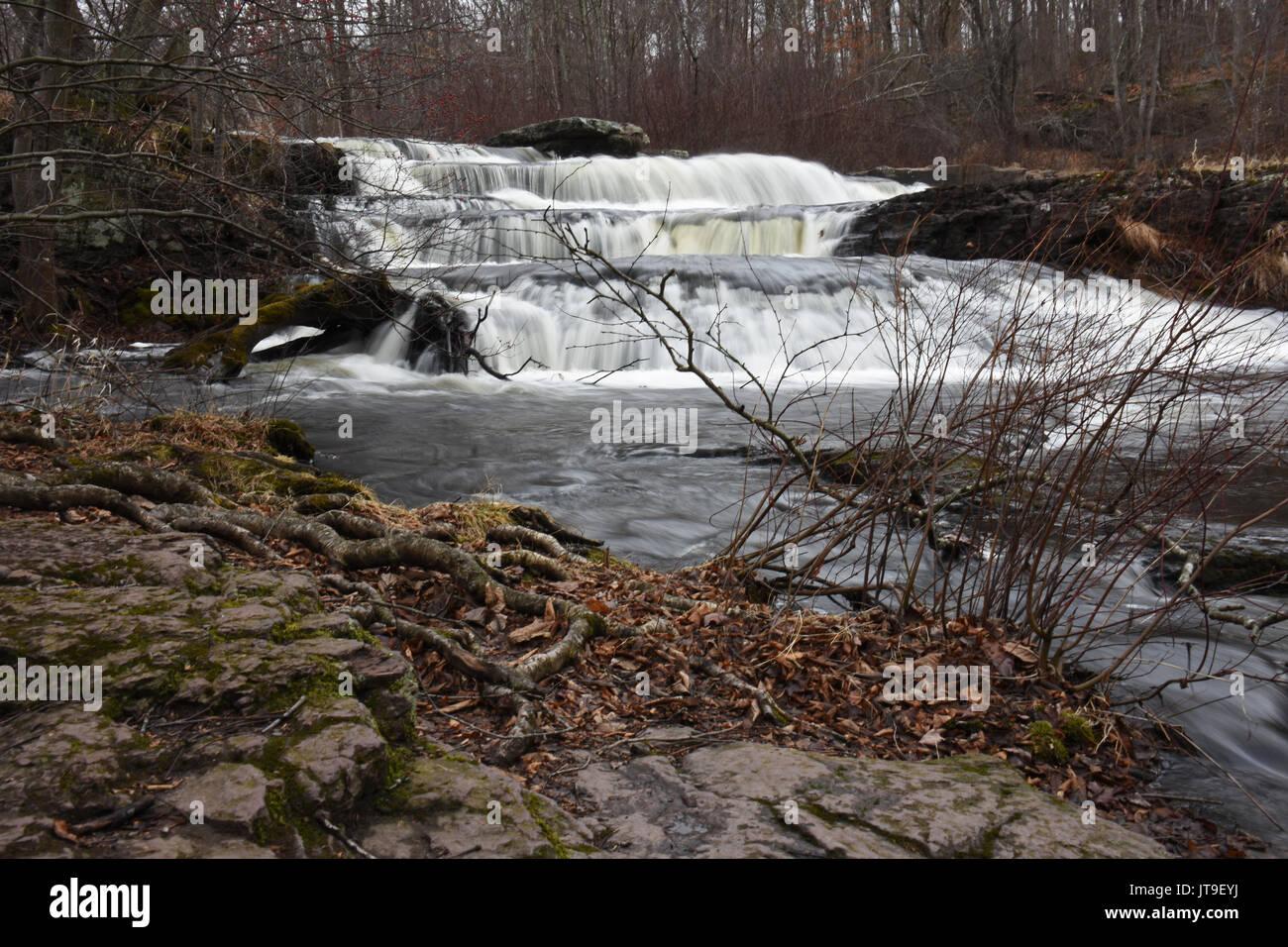 Waterfall 1 - Stock Image