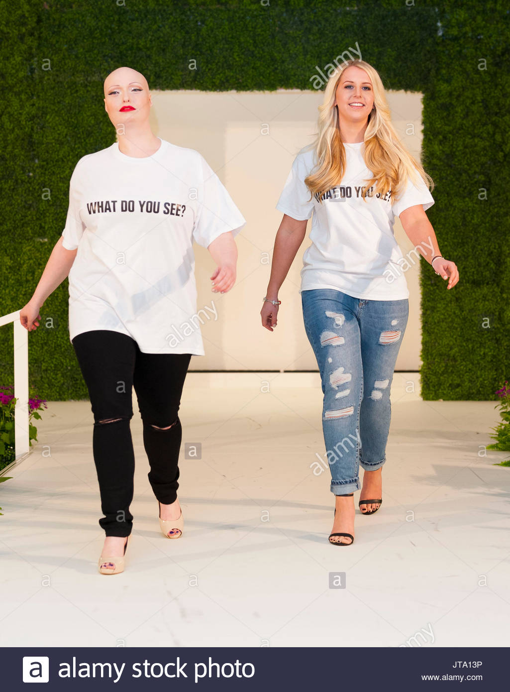 katie piper diversity catwalk show at ideal home show london
