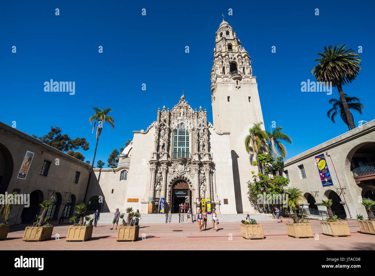 San Diego Museum of Man, Balboa Park, San Diego, California, United States of America, North America - Stock Image