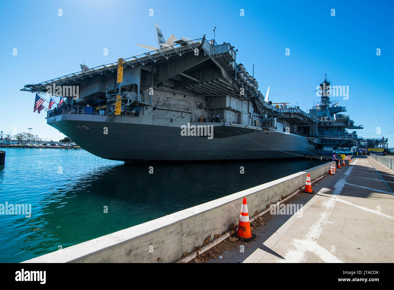 USS Midway Museum, San Diego, California, United States of America, North America - Stock Image