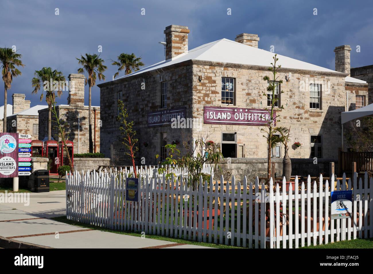 Royal Naval Dockyard, West End, Sandys Parish, Bermuda, Central America - Stock Image