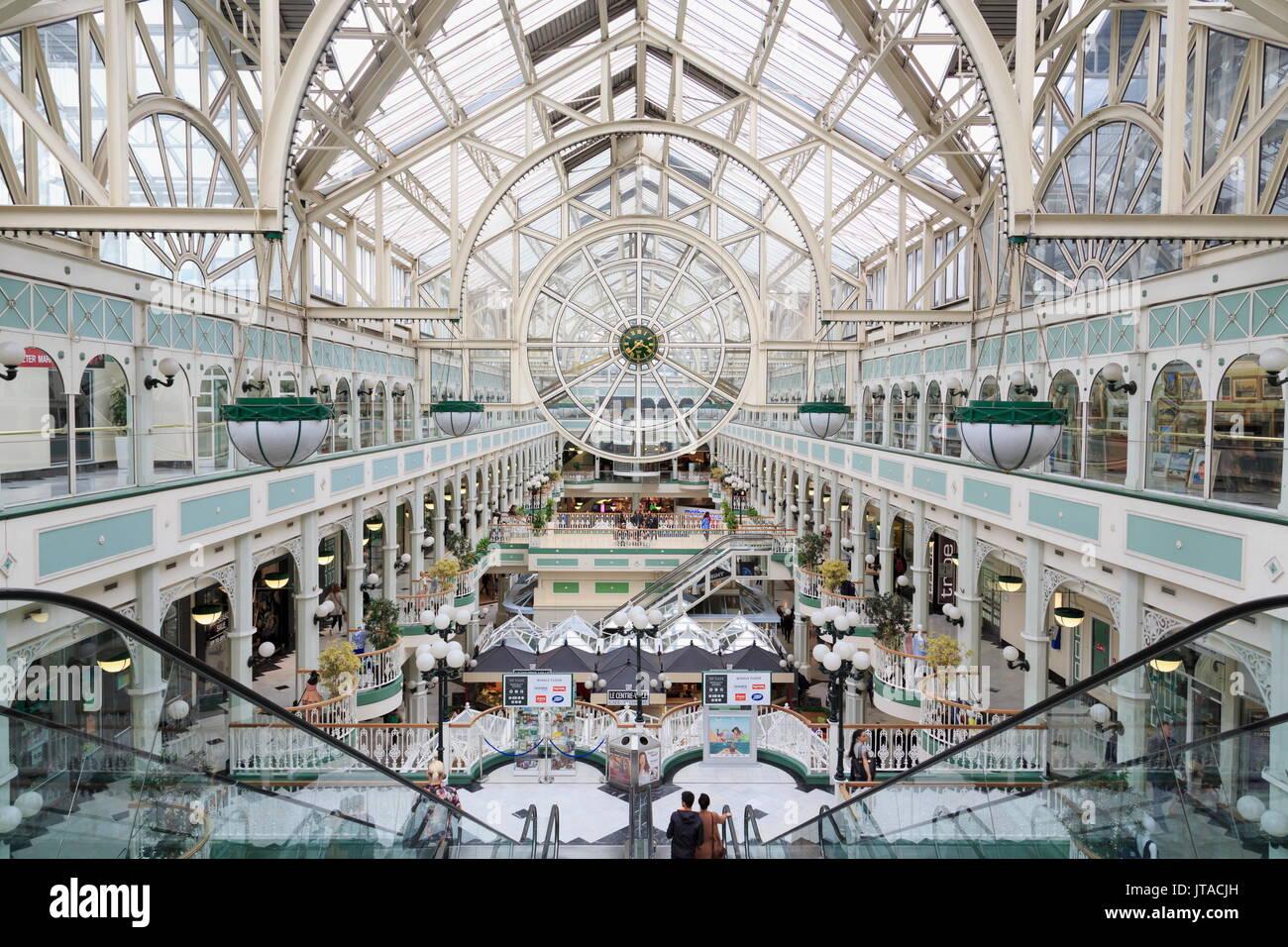 Stephen's Green Shopping Centre, Dublin City, County Dublin, Republic of Ireland, Europe - Stock Image