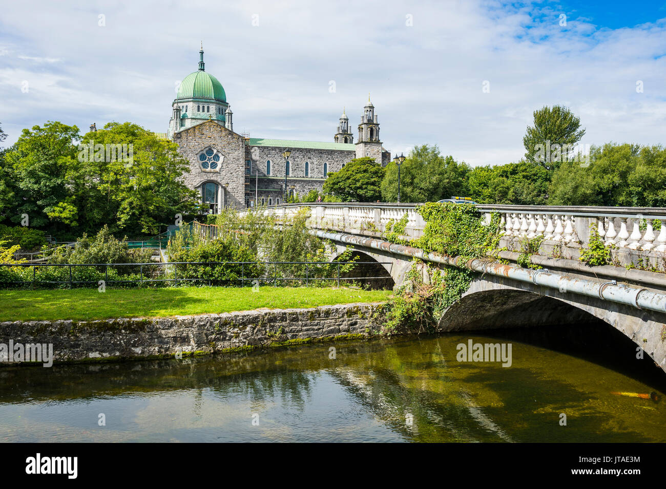 Galway cathedral, Galway, County Galway, Connacht, Republic of Ireland, Europe - Stock Image