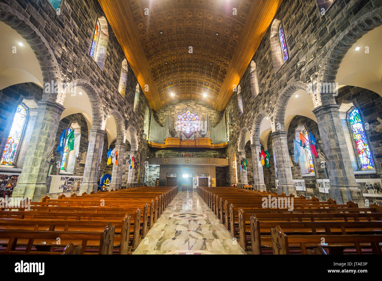 Interior of the Galway Cathedral, Galway, Connacht, Republic of Ireland, Europe - Stock Image