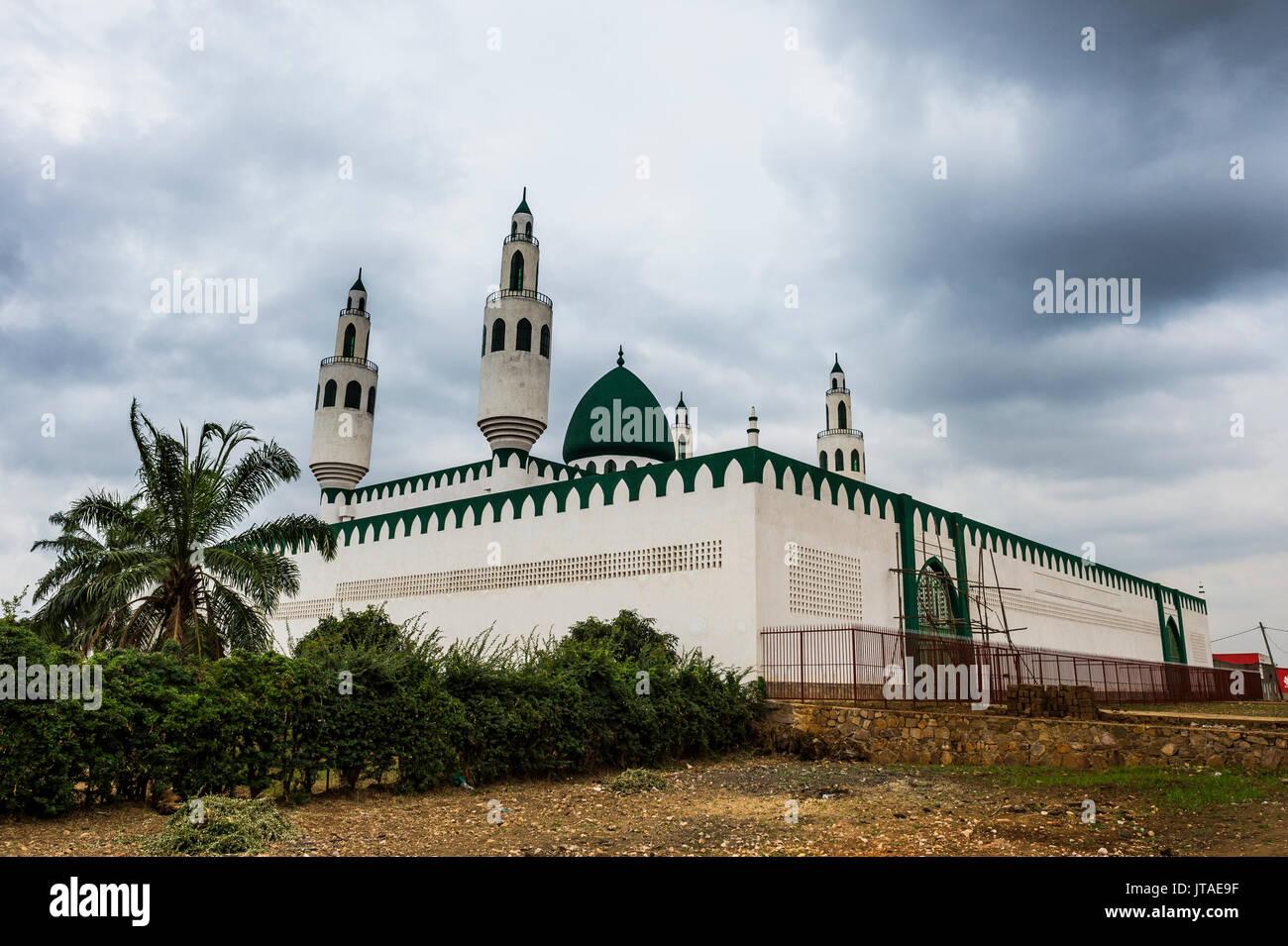 Grand Mosque of Bujumbura, Burundi, Africa - Stock Image