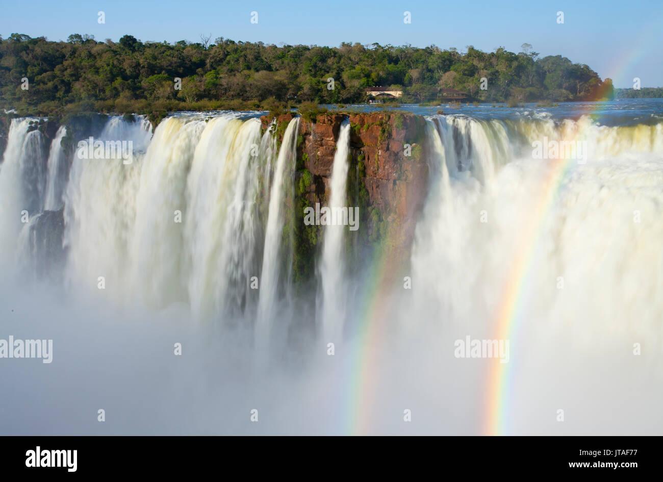 Iguazu Falls, Devil's Throat, Argentina - Stock Image
