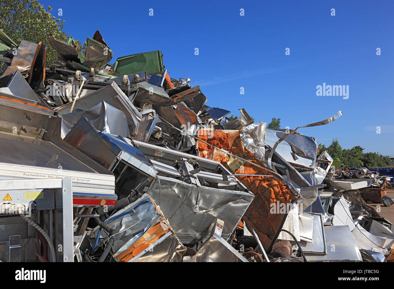 Scrap Metal Utilisation Stock Photos & Scrap Metal