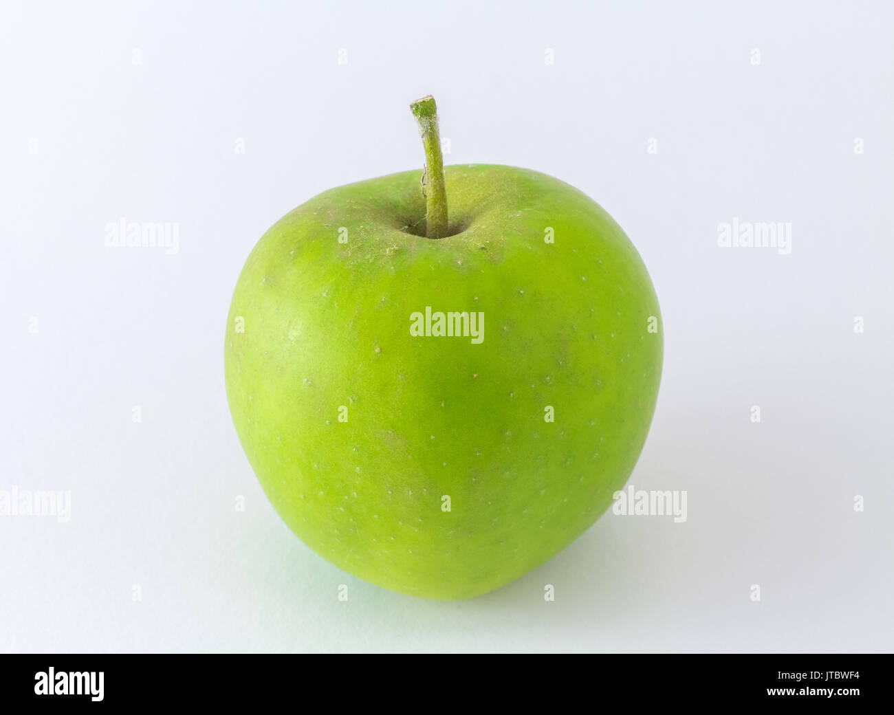 Apple Green Apple isolated on White Background - Stock Image