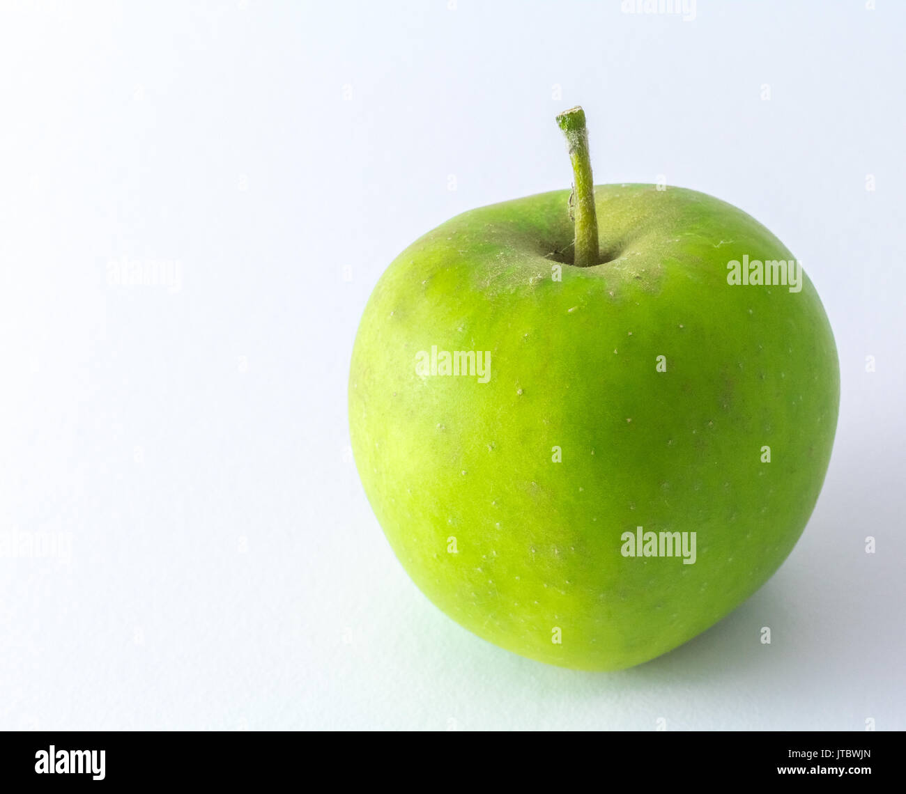 Apple Green Apple isolated on White Background Stock Photo