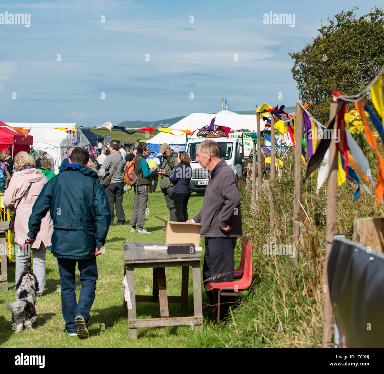 Entrance to Southern agricultural show, ticket sales - Stock Image