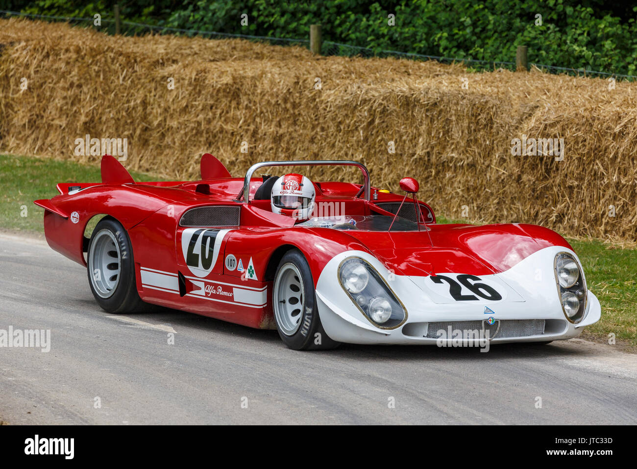 1968 alfa romeo 33 2 le mans endurance racer with driver giuseppe stock photo 152700561 alamy. Black Bedroom Furniture Sets. Home Design Ideas