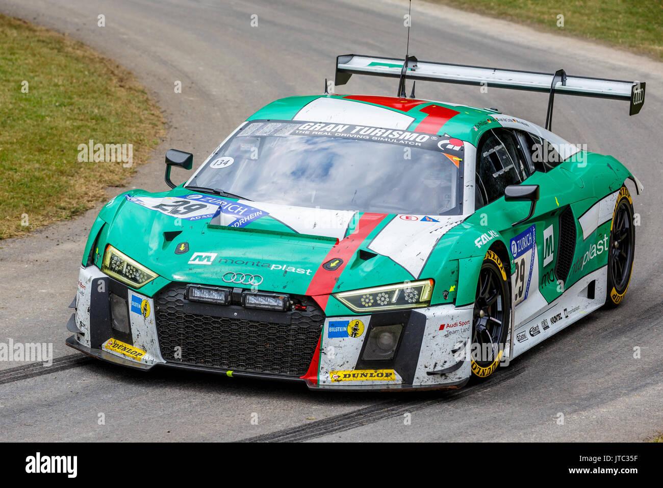 Audi R8 Lms Racing Car Stock Photos Audi R8 Lms Racing Car Stock