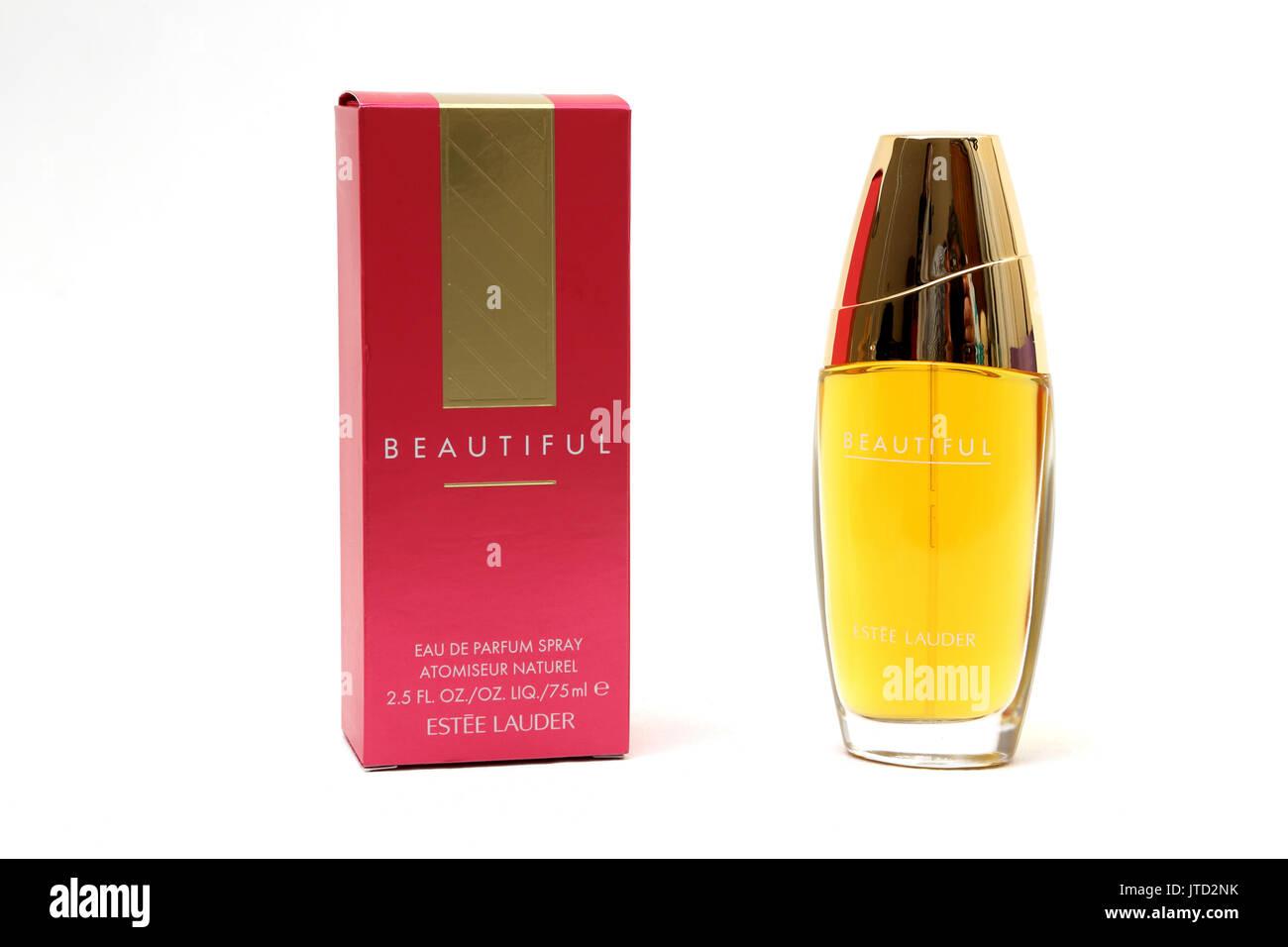 Estee Lauder Stock Photos Images Alamy Beautiful Women 75ml Eau De Parfum Spray Image