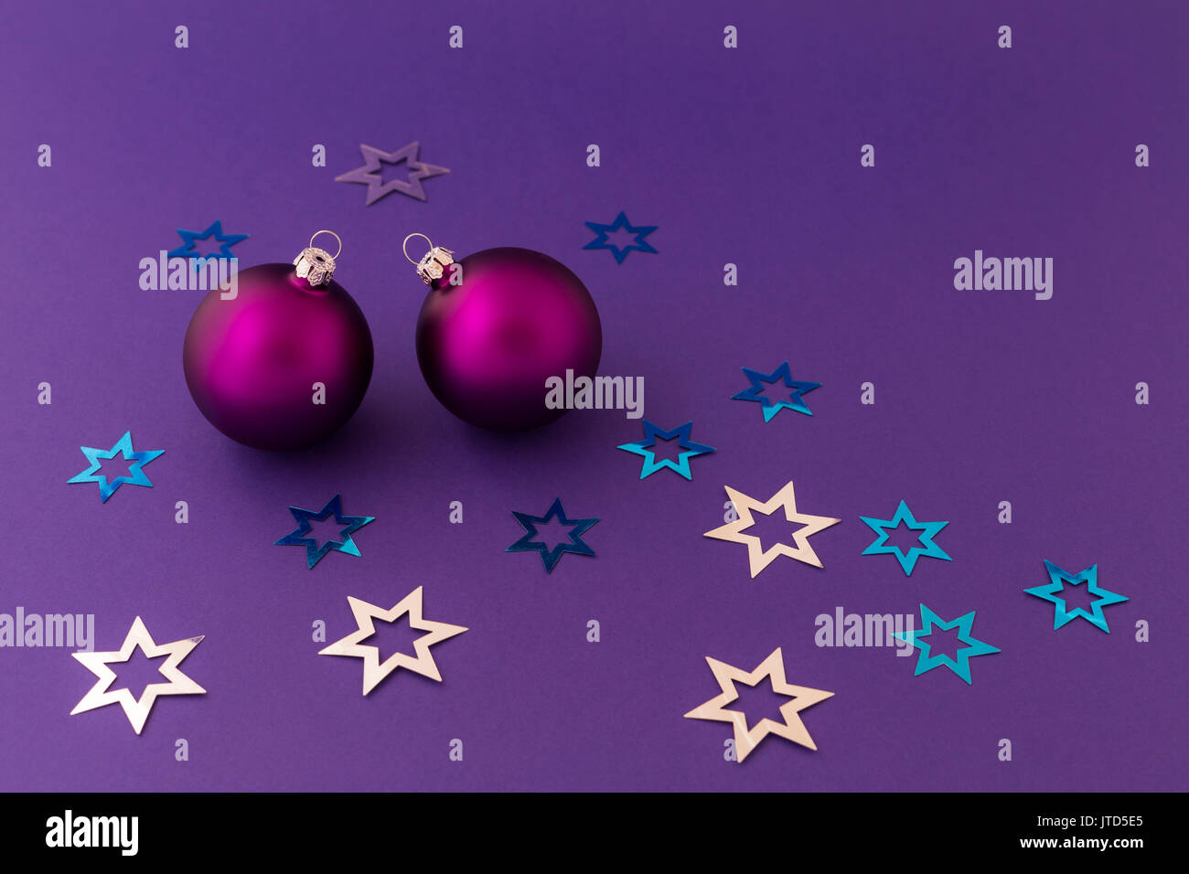 Beautiful purple christmas balls with satin effect and metallic beautiful purple christmas balls with satin effect and metallic silver and blue stars on purple background altavistaventures Choice Image