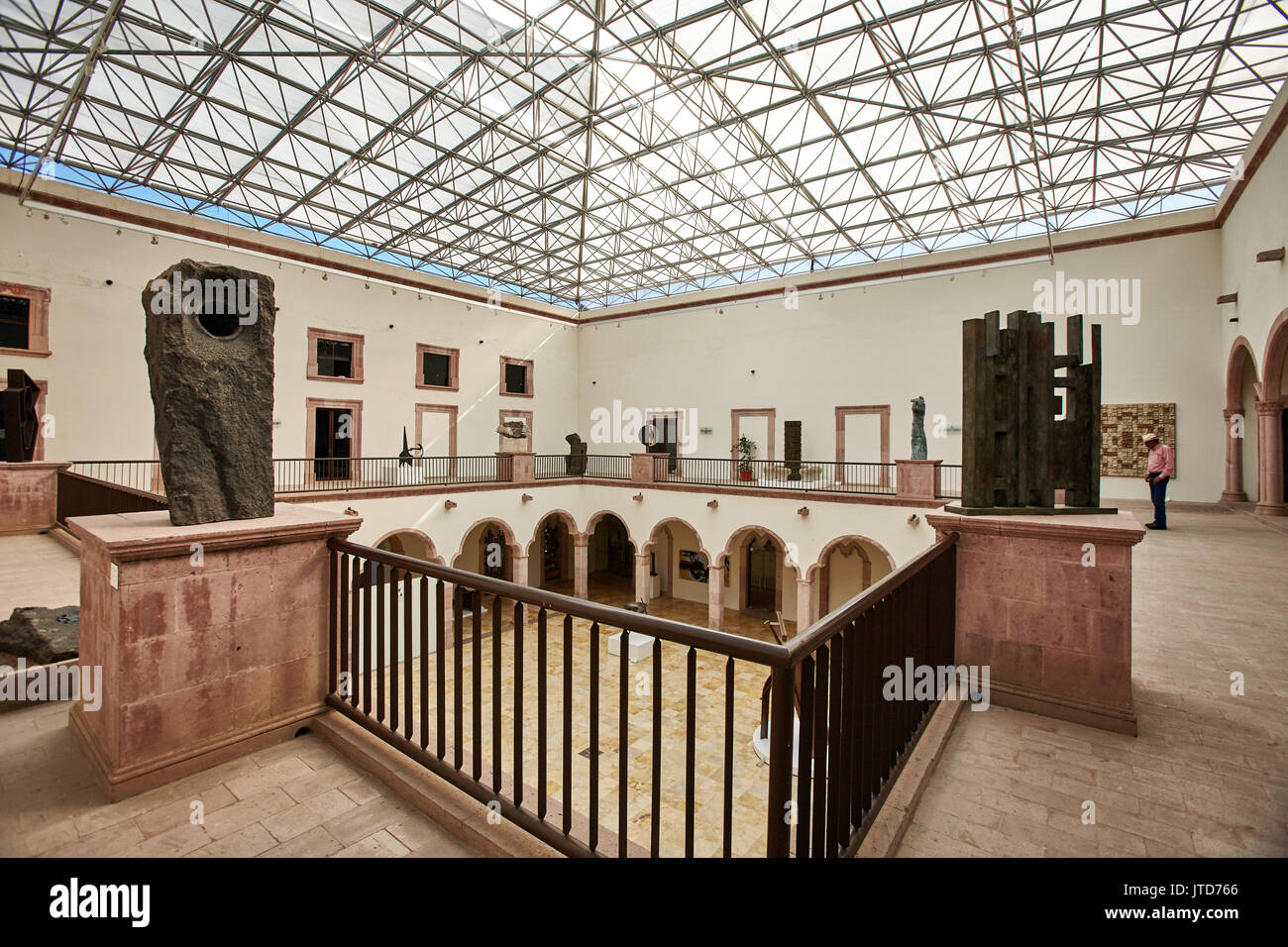 America; Mexico; Zacatecas city; Art Abstract Manuel Felgueréz Museum   The Museo Manuel Felguerez is located - Stock Image