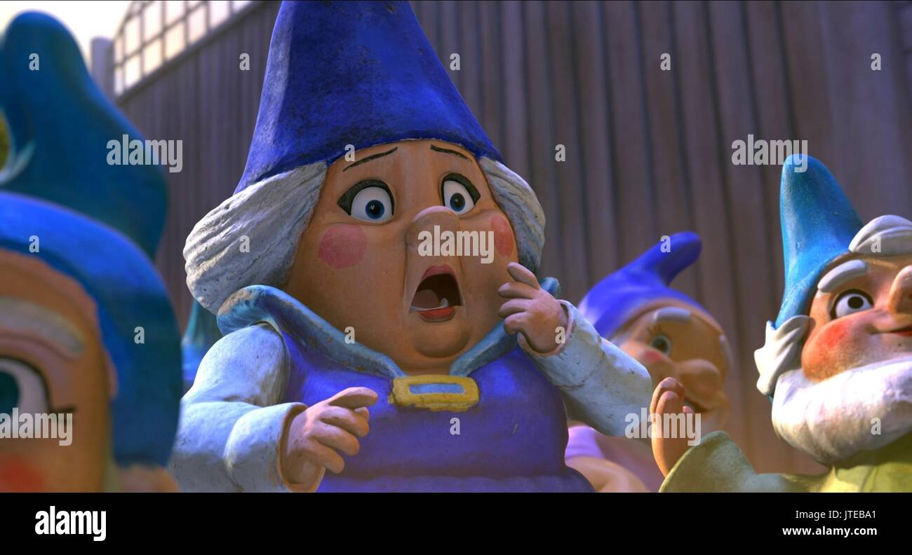 Lady Blueberry Gnomeo And Juliet 2011 Stock Photo Alamy