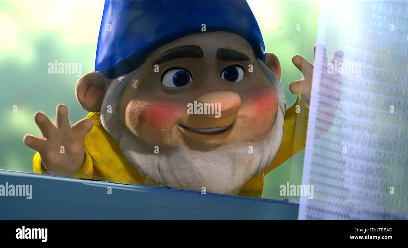 Benny Gnomeo And Juliet 2011 Stock Photo Alamy