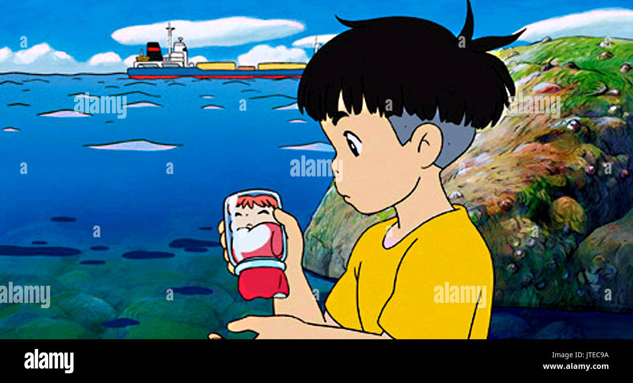 Ponyo 2008 High Resolution Stock Photography And Images Alamy