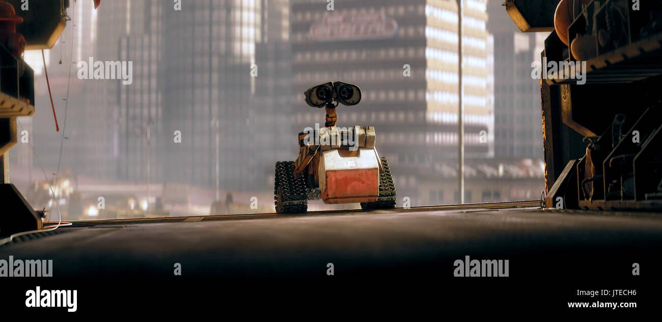 Wall E The Robot Wall E Wall E Wall E 2008 Stock Photo Alamy