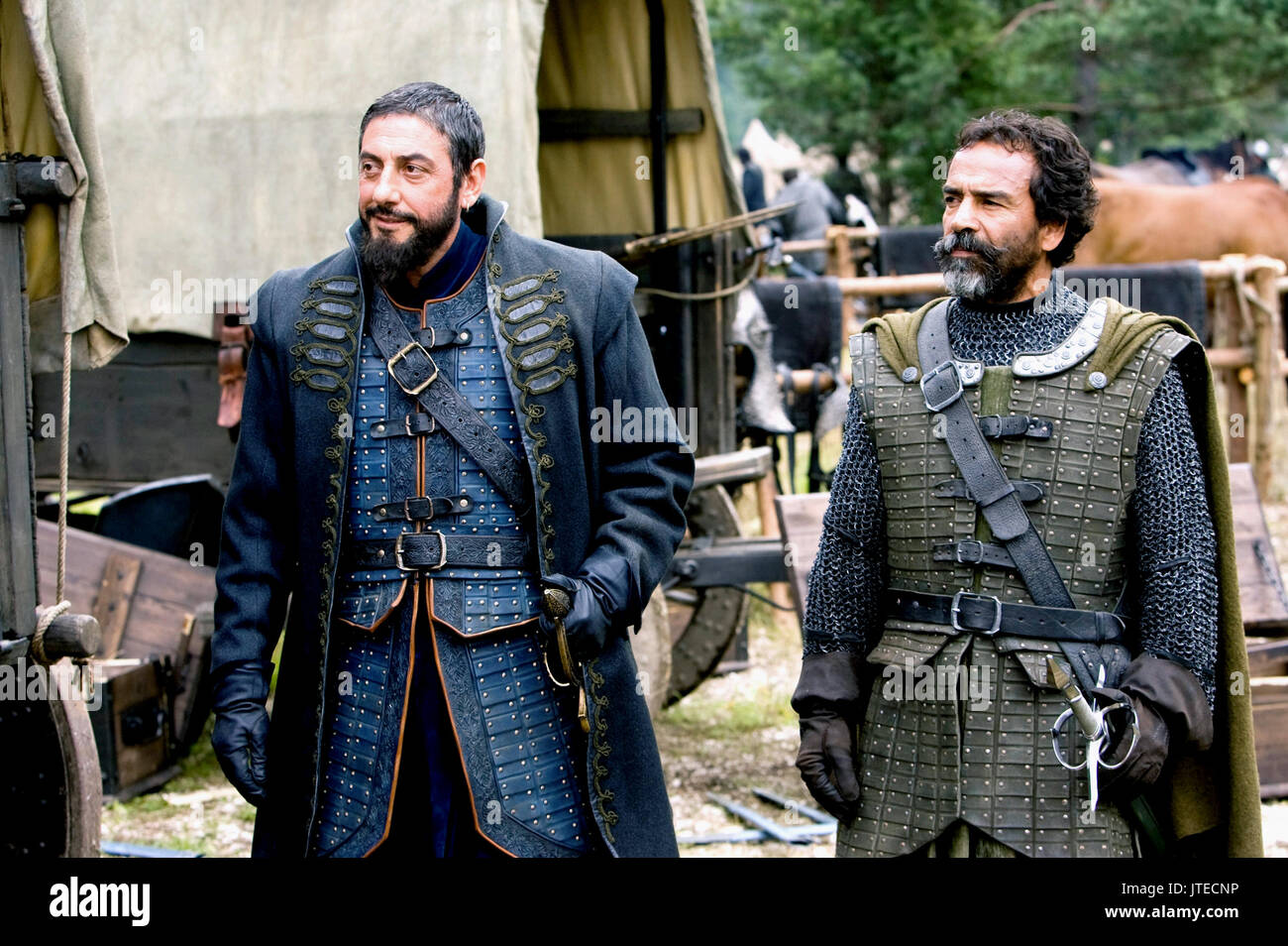 SERGIO CASTELLITTO & DAMIAN ALCAZAR THE CHRONICLES OF NARNIA: PRINCE CASPIAN (2008) - Stock Image