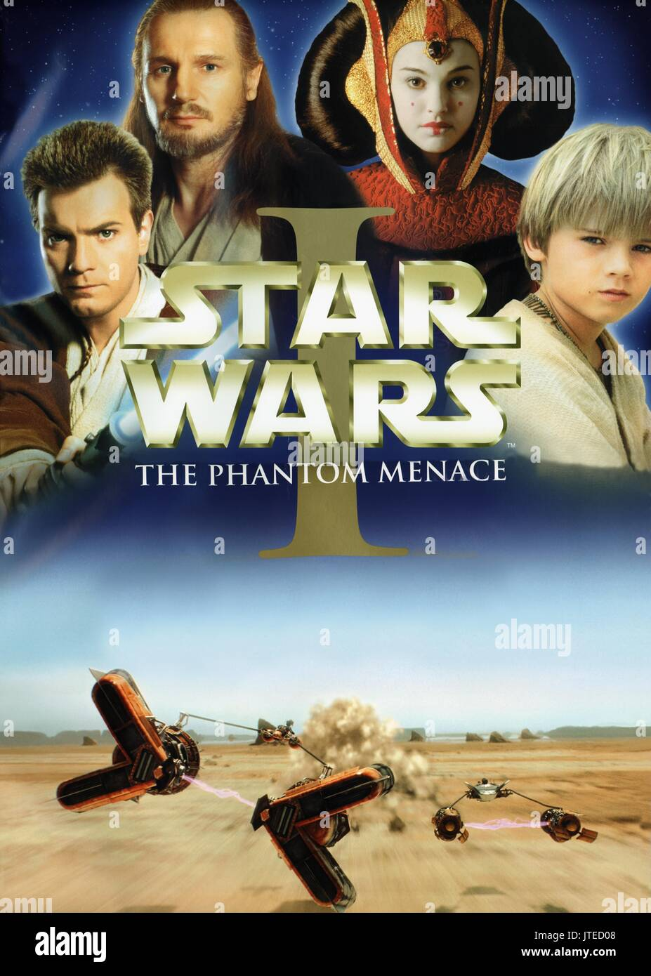 Star Wars The Phantom Menace Poster High Resolution Stock Photography And Images Alamy