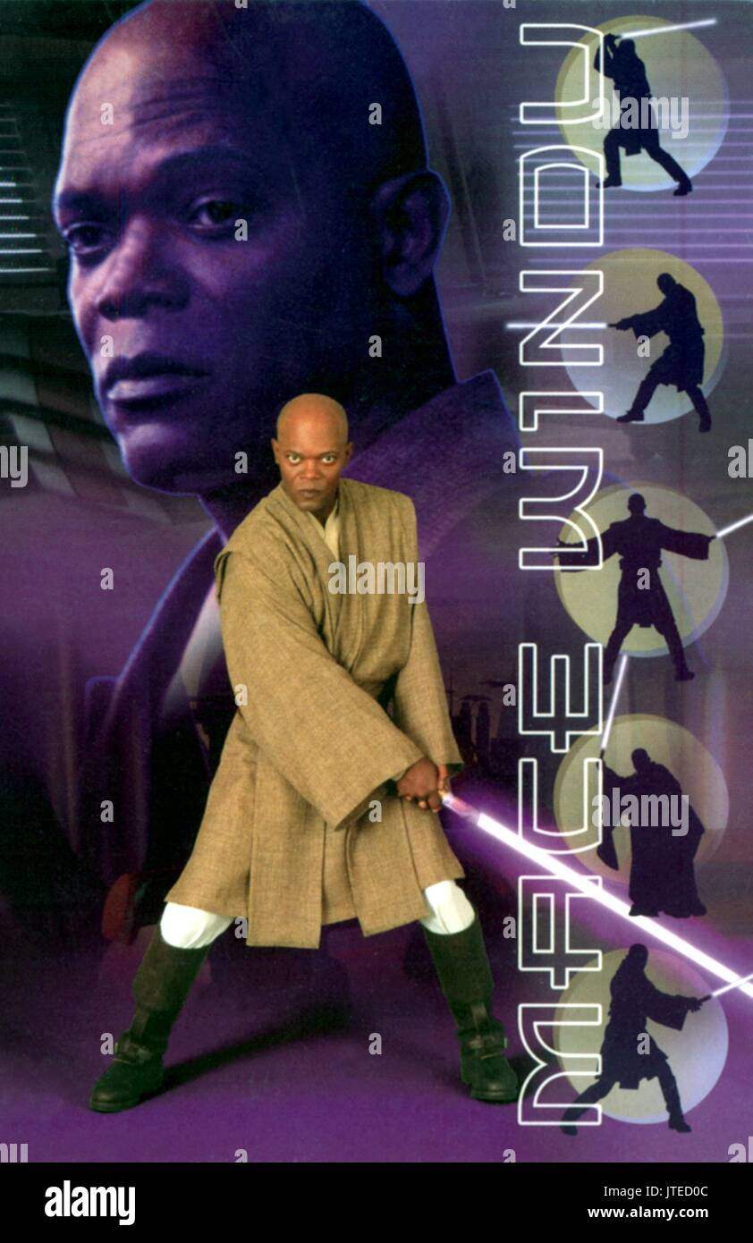 Samuel L Jackson Star Wars Episode Iii Revenge Of The Sith 2005 Stock Photo Alamy