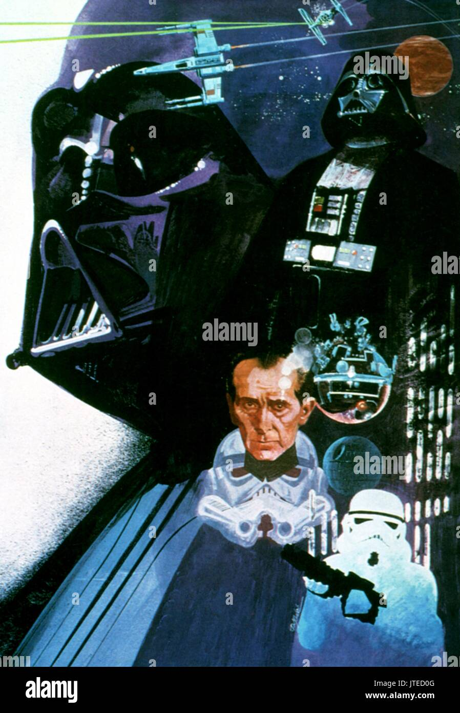 Movie Art Work Star Wars Star Wars Episode Iv A New Hope 1977 Stock Photo Alamy