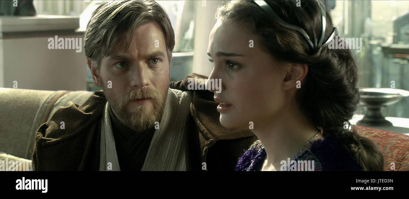 Ewan Mcgregor Natalie Portman Star Wars Episode Iii Revenge Of Stock Photo Alamy