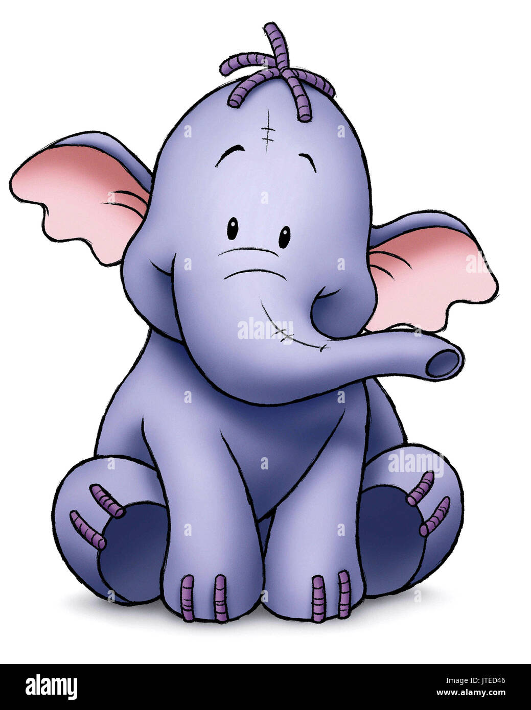Pooh Heffalump coloring pages on Coloring-Book.info | 1390x1039