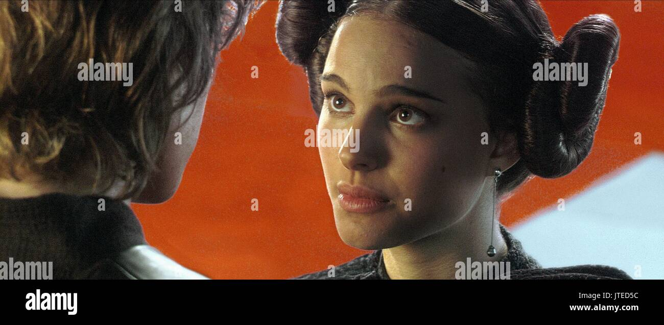 Natalie Portman Star Wars Episode Iii Revenge Of The Sith 2005 Stock Photo Alamy