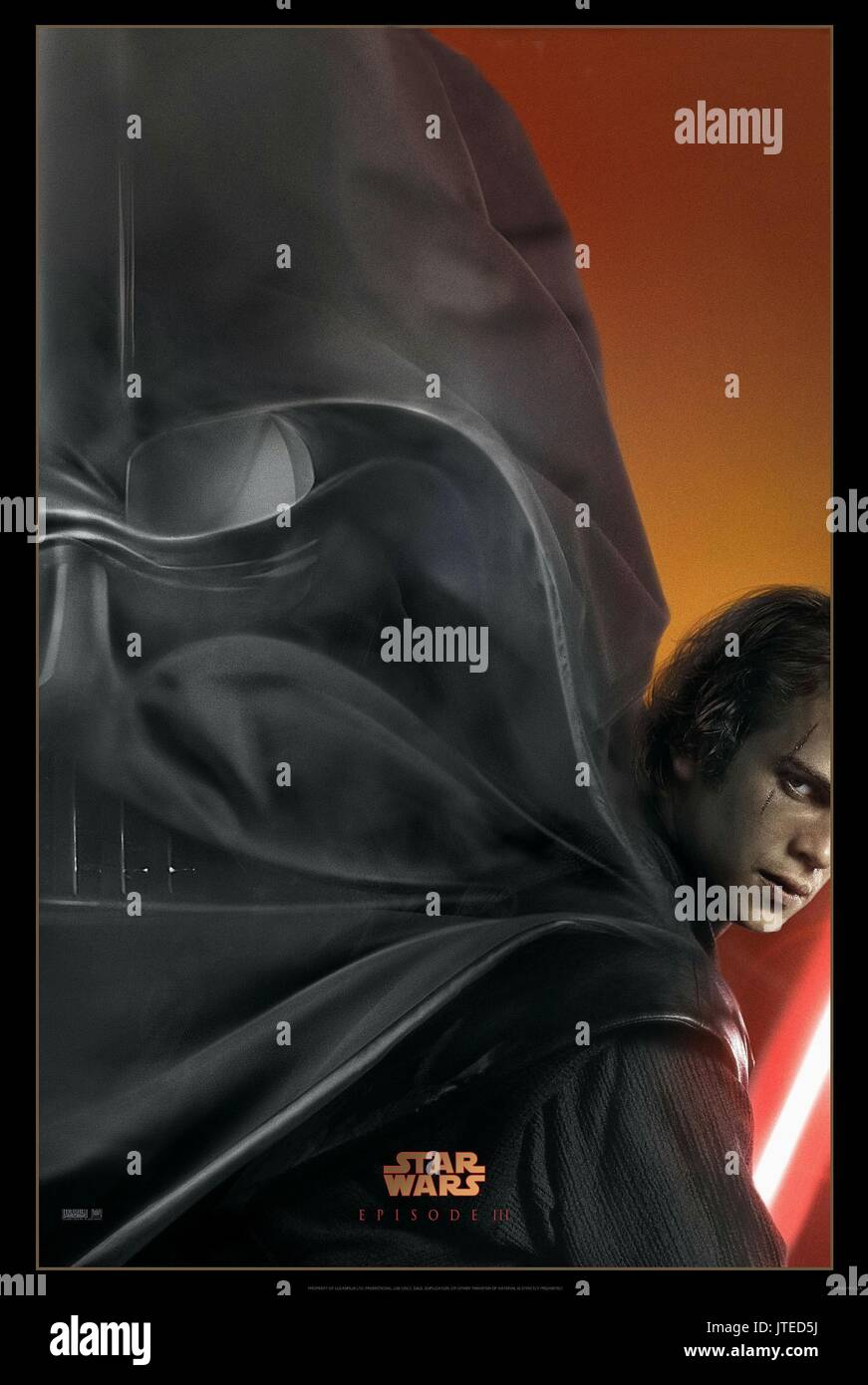 Darth Vader Hayden Christensen Star Wars Episode Iii Revenge Of Stock Photo Alamy