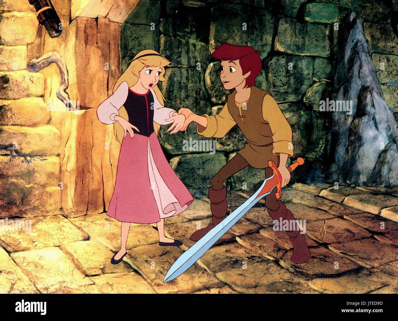 Taran eilonwy the black cauldron 1985 stock photo 152752473 alamy taran eilonwy the black cauldron 1985 altavistaventures Image collections