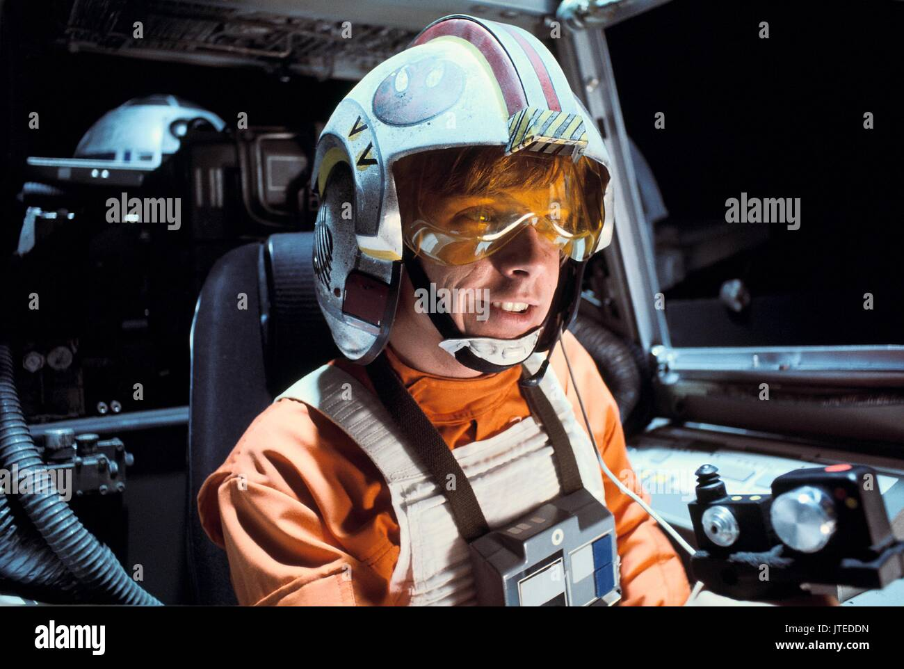 Mark Hamill Star Wars Star Wars Episode Iv A New Hope 1977 Stock Photo Alamy