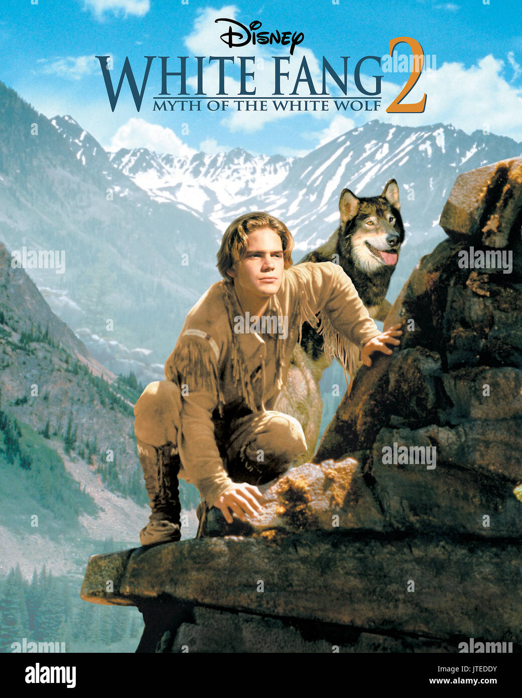 SCOTT BAIRSTOW POSTER WHITE FANG 2: MYTH OF THE WHITE WOLF (1994) - Stock Image