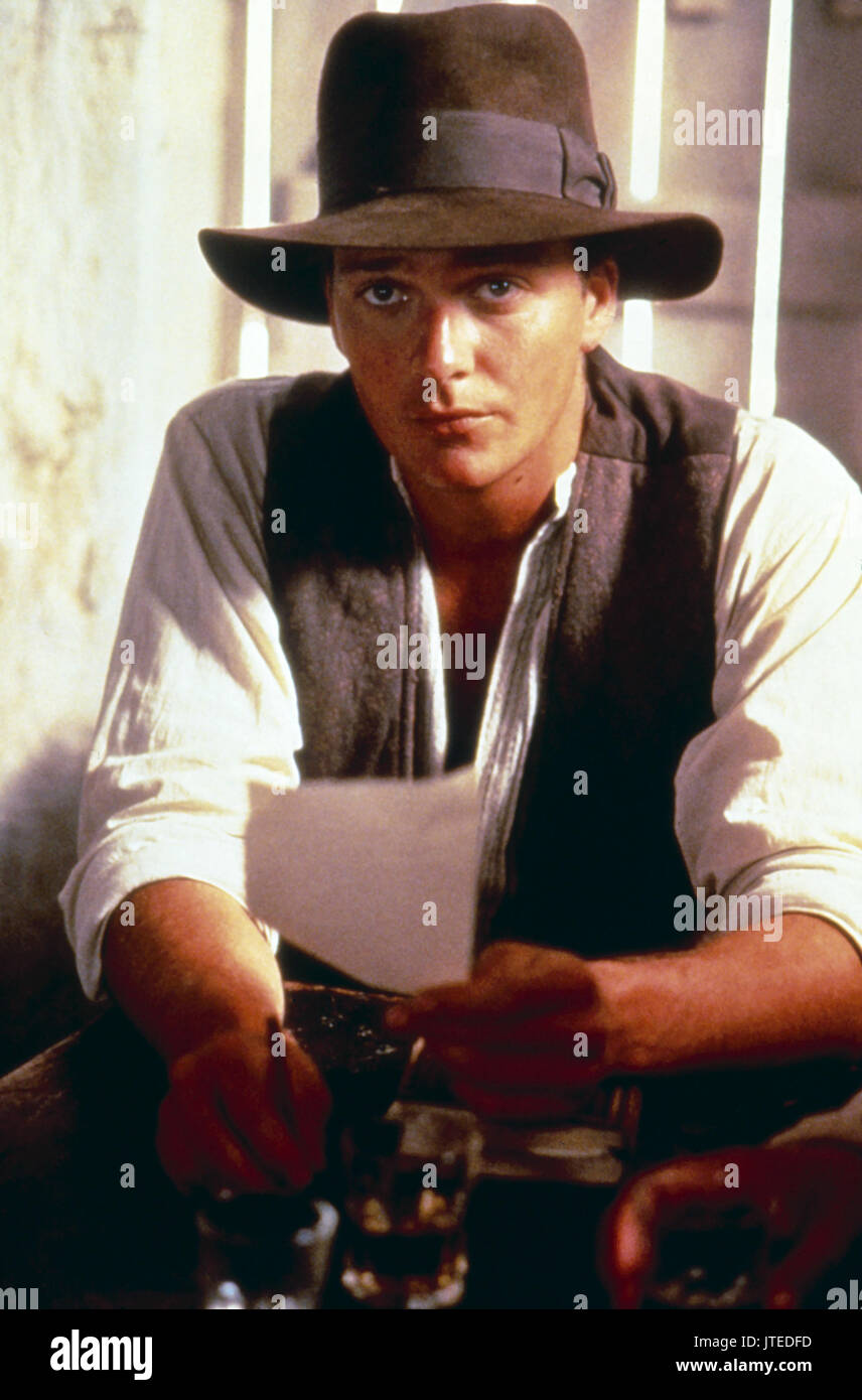 Sean Patrick Flanery The Young Indiana Jones Chronicles 1992 Stock Photo Alamy