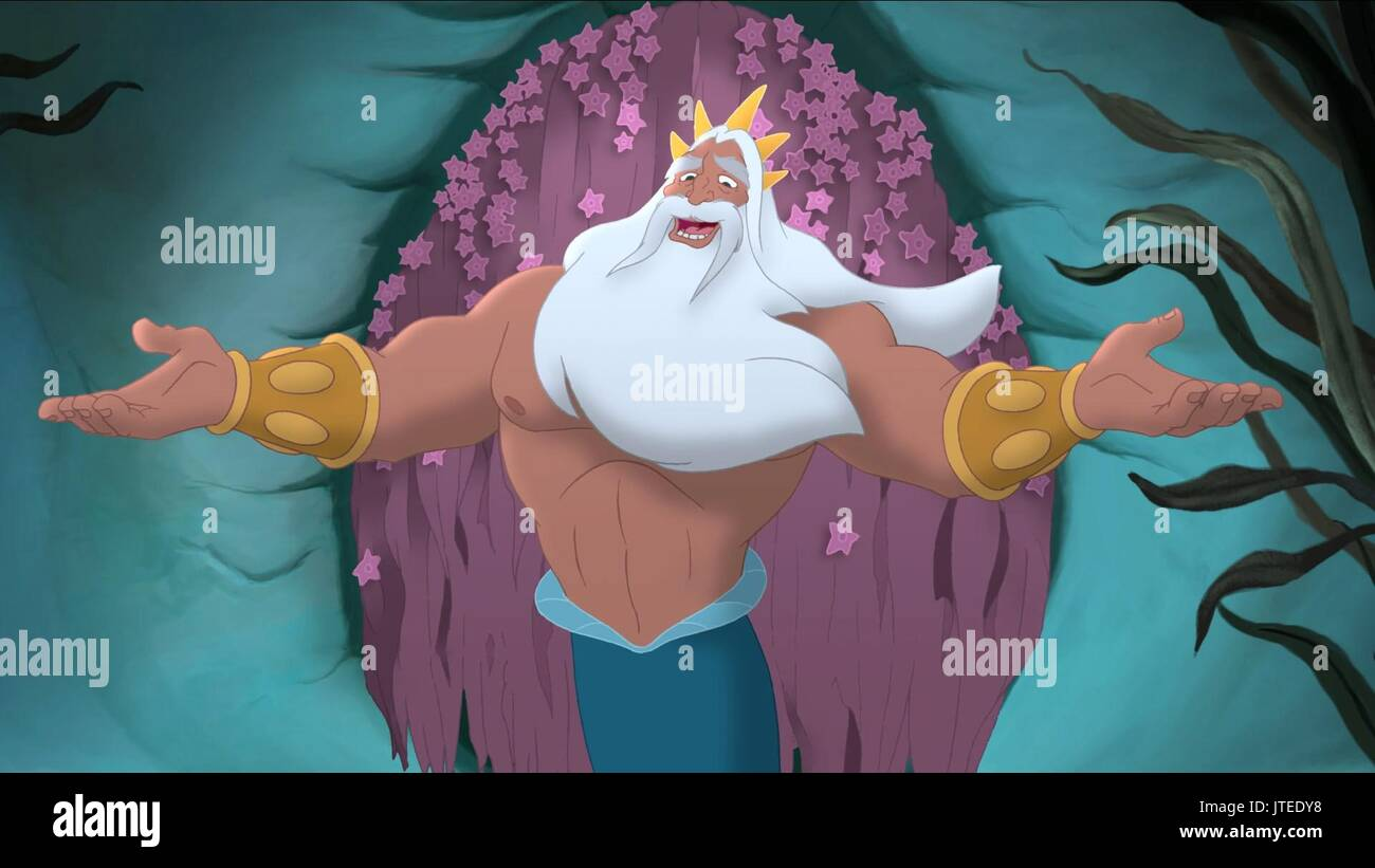 king triton the little mermaid stock photos king triton the little