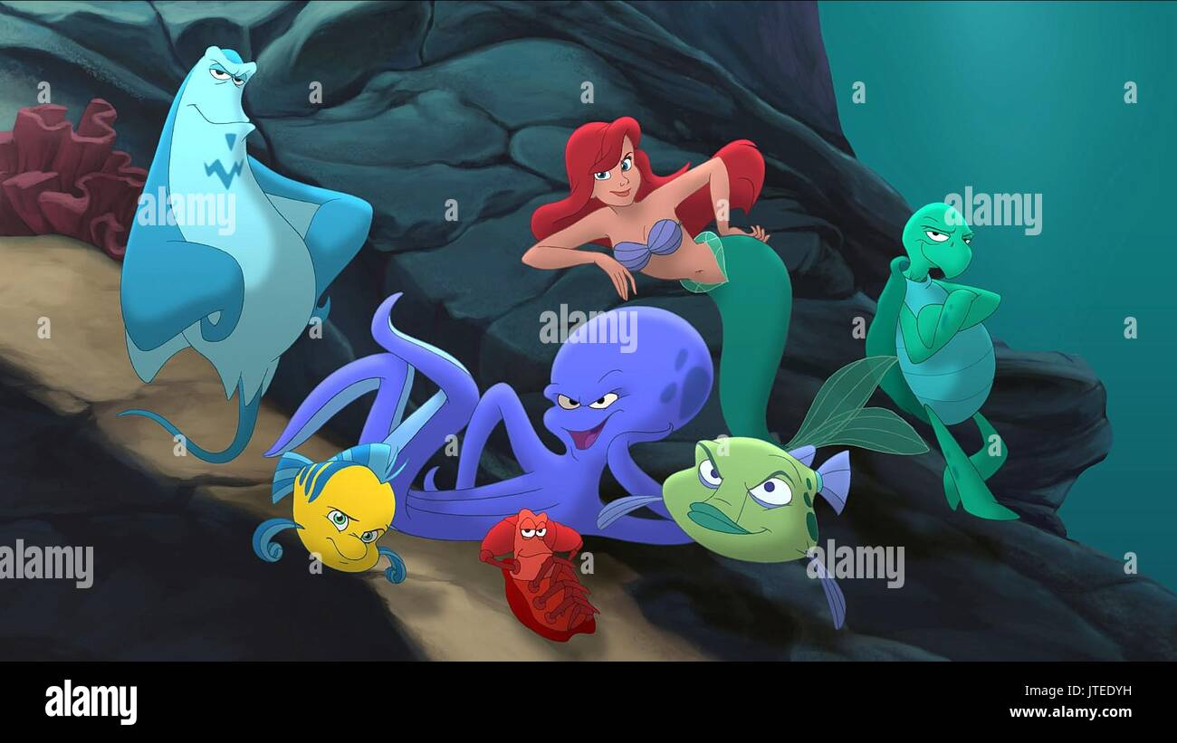 ariel sebastian little mermaid stock photos ariel sebastian little