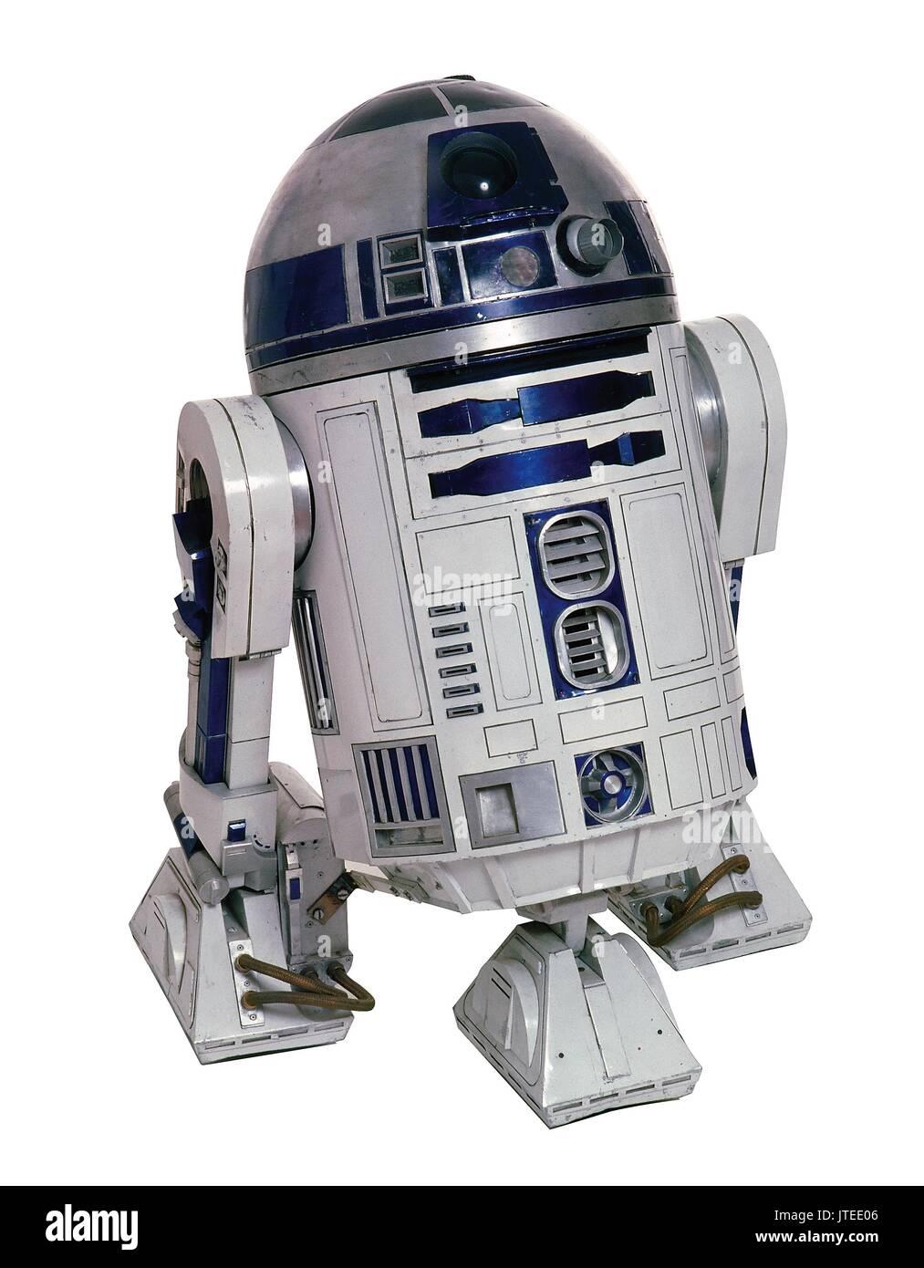 R2-D2 STAR WARS; STAR WARS: EPISODE IV - A NEW HOPE (1977) - Stock Image