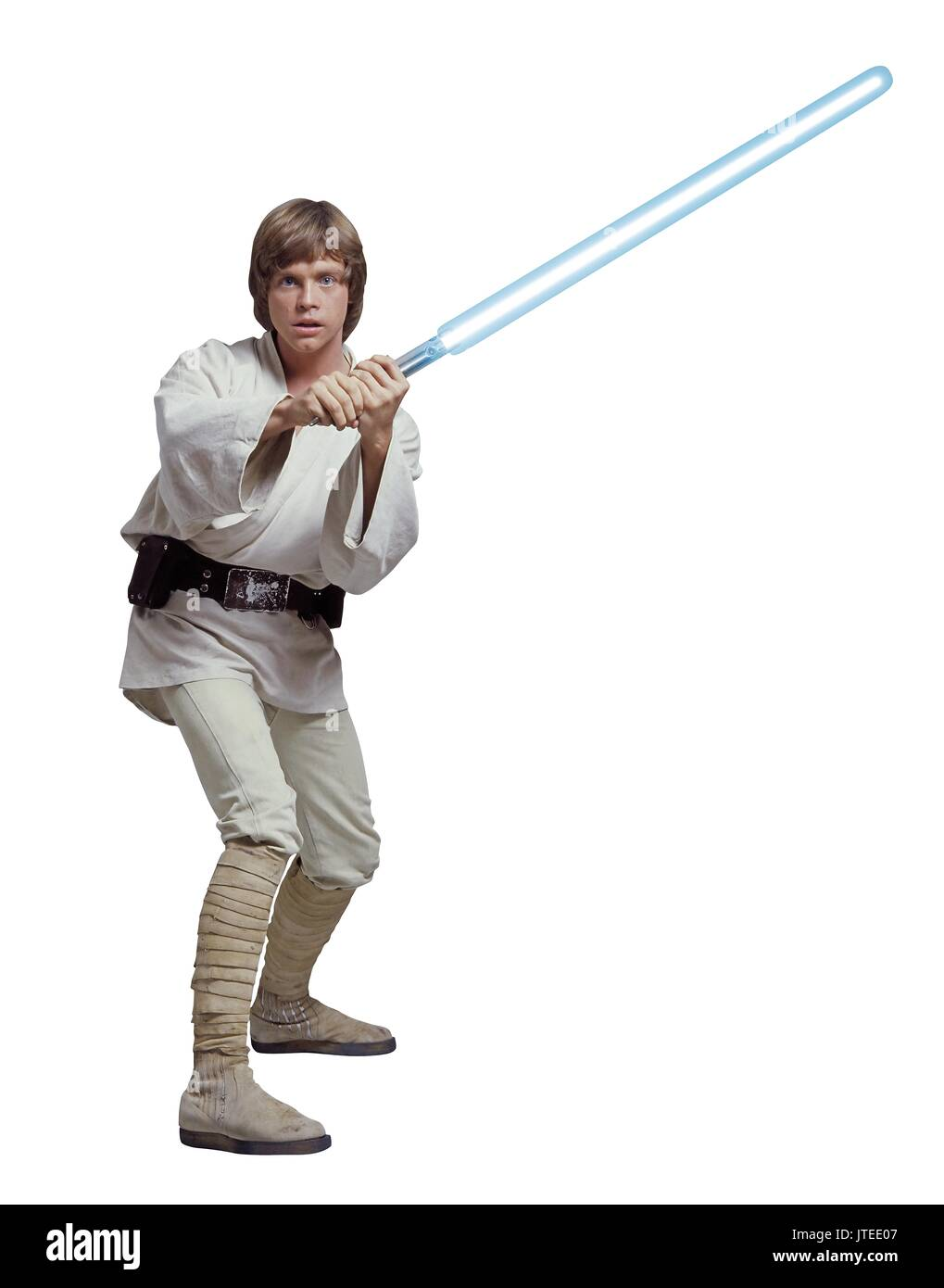 MARK HAMILL STAR WARS; STAR WARS: EPISODE IV - A NEW HOPE (1977) - Stock Image