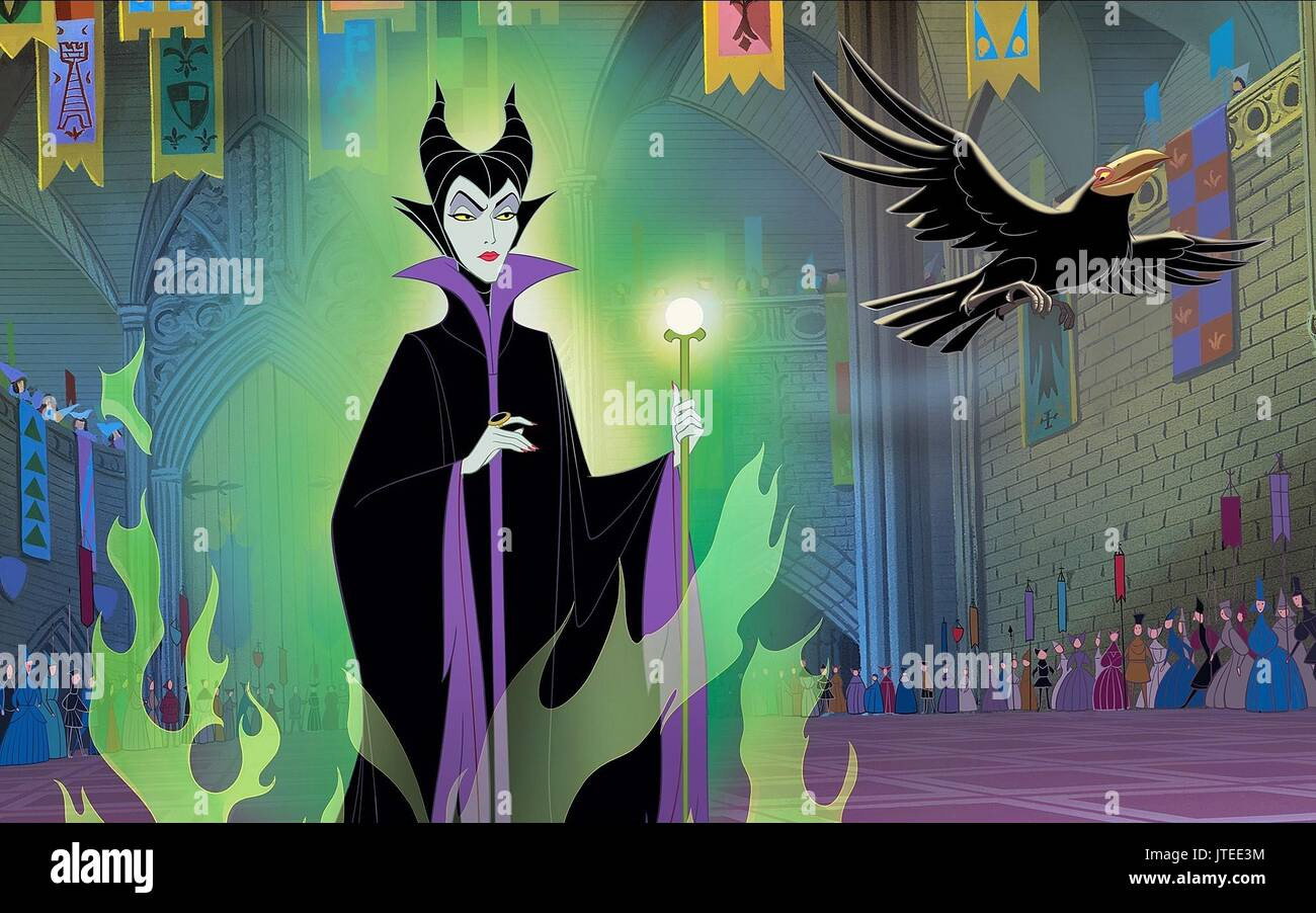 Maleficent Sleeping Beauty 1959 Stock Photo 152753096 Alamy