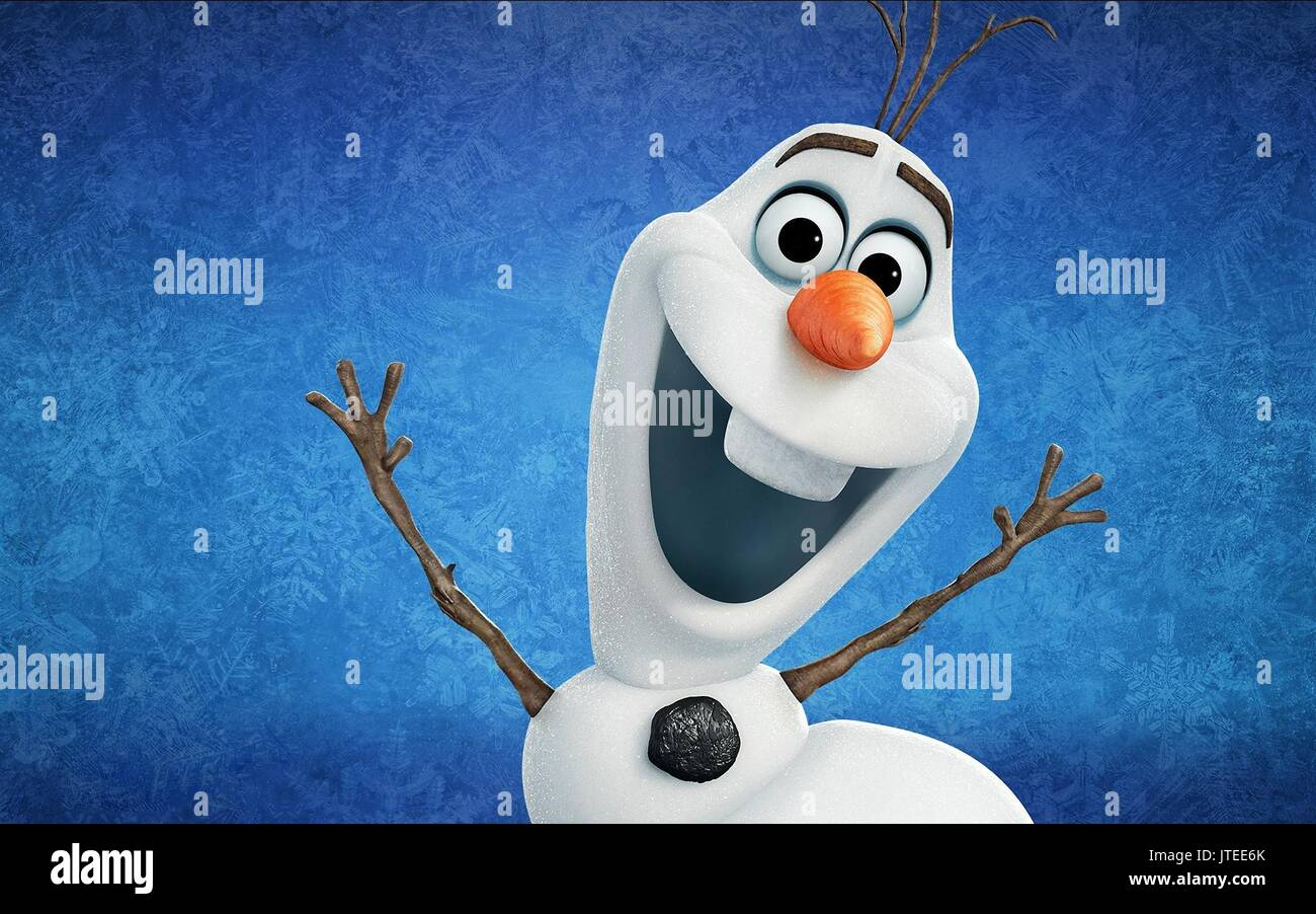 OLAF FROZEN (2013) - Stock Image
