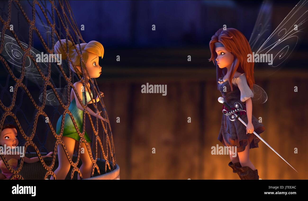 Tinker bell and the pirate fairy zarina assured, that