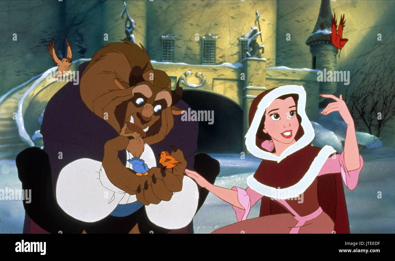 Beast Belle Beauty And The Beast 1991 Stock Photo Alamy