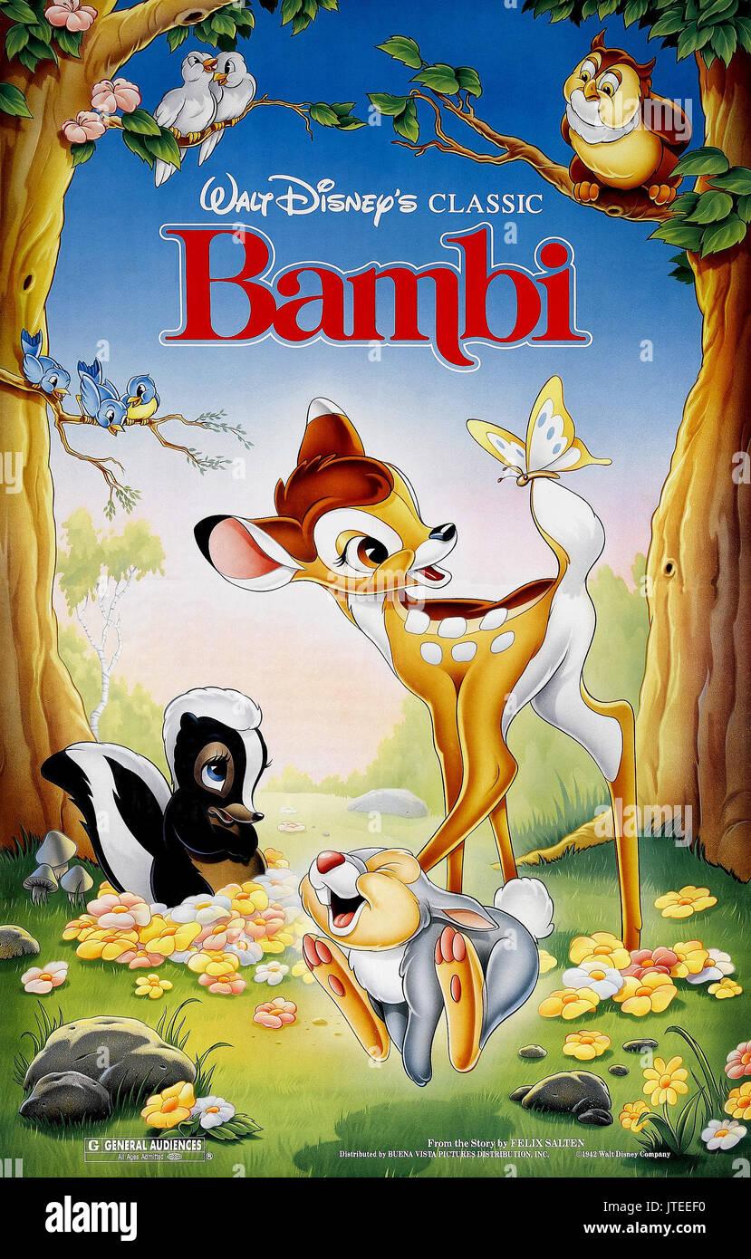 Bambi Thumper Bambi 1942 Stock Photo Alamy