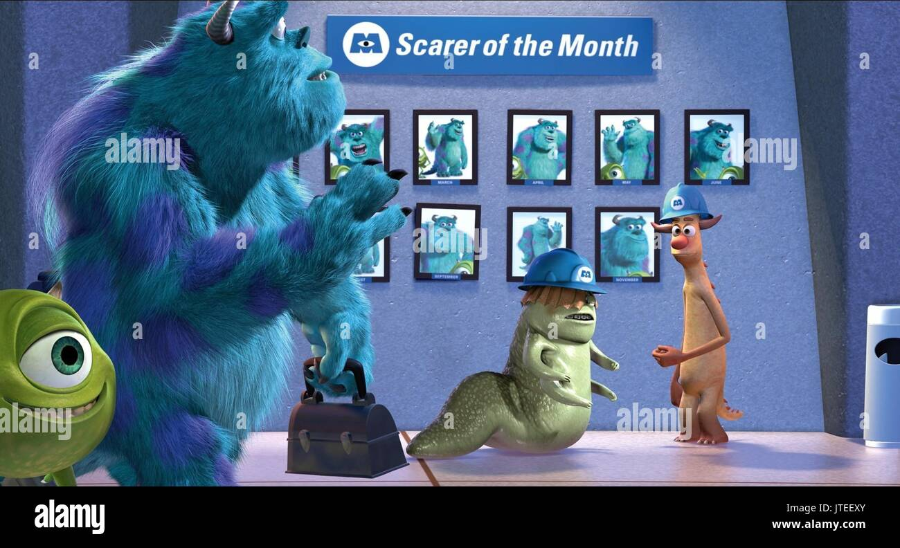 Sulley Mike Monsters Inc Monsters Stock Photos & Sulley Mike