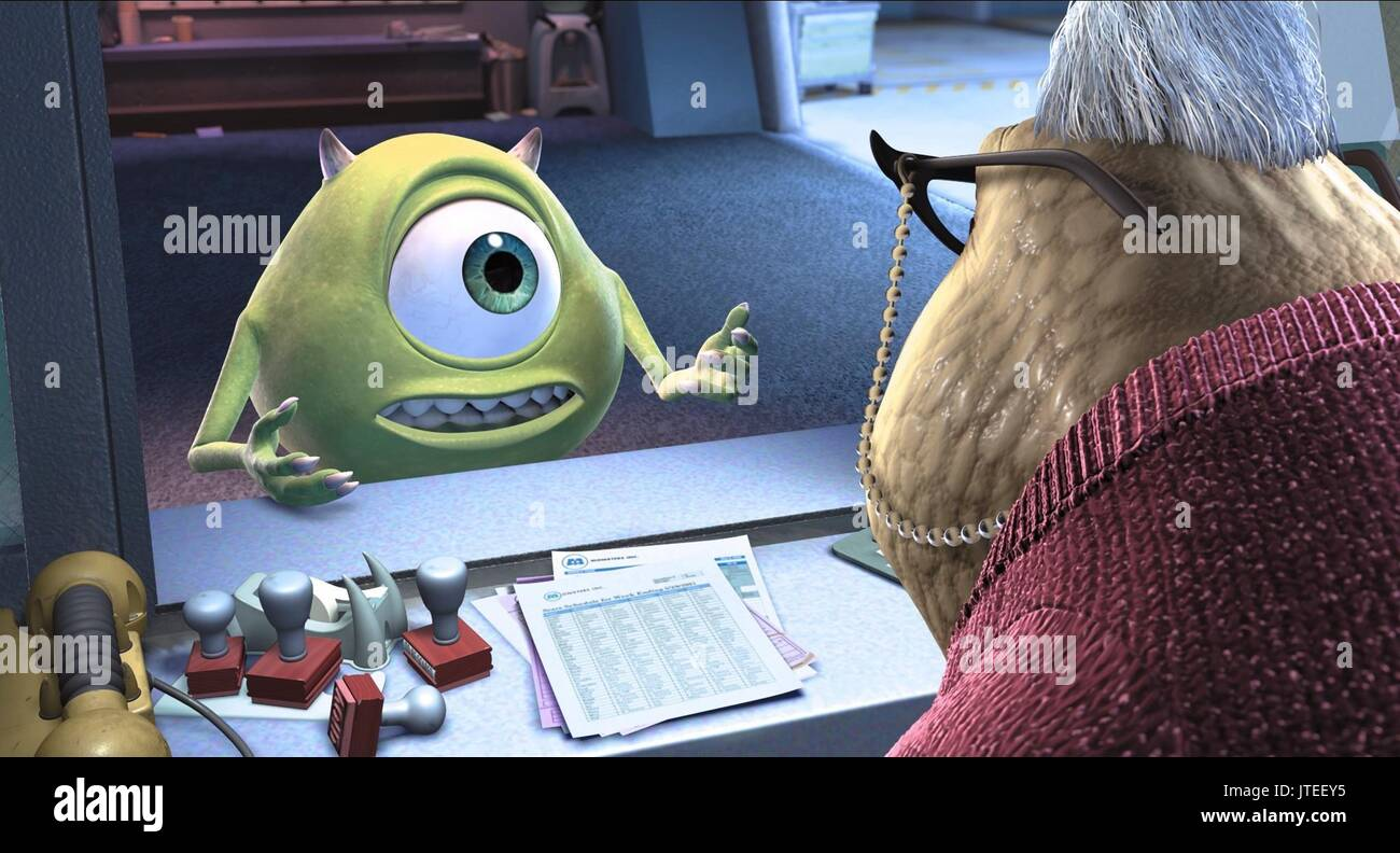 MIKE & ROZ MONSTERS INC