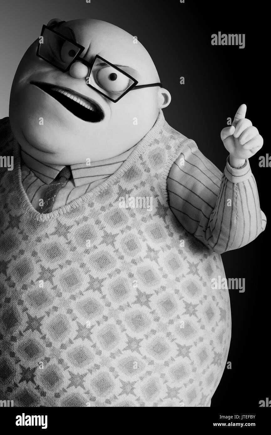 Mr Bergermeister Frankenweenie 2012 Stock Photo Alamy