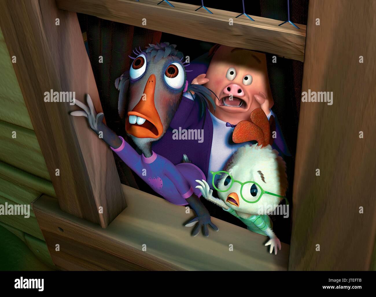 Ugly Duckling Runt Chicken Little Chicken Little 2005 Stock Photo Alamy